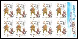 Australie - Alphabète Z - Carnet neuf Z