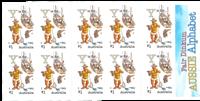 Australien - Alfabetet Y - Postfrisk frimærkehæfte Y