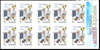 Australien - Alfabetet X - Postfrisk frimærkehæfte X