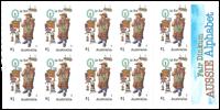 Australien - Alfabetet O - Postfrisk frimærkehæfte O