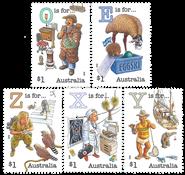 Australie - Alphabète - Série neuve 5v