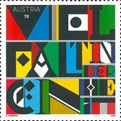 Østrig - Enhed i mangfoldigheden - Postfrisk frimærke