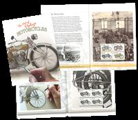 Australien - Motorcykler - Postfrisk prestigehæfte