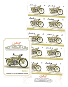 Australie - Motos Invincible - Carnet neuf Invincible