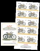 Australien - Motorcykel Kelecom - Postfrisk frimærkehæfte Kelecom