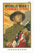 Etats-Unis - WWI *Turning the Tide* * - Timbre neuf