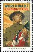 USA - Første verdenskrig *Turning the Tide* - Postfrisk frimærke