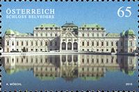Autriche - Palais du Belvedère - Timbre neuf