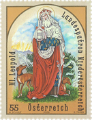 Autriche - Saint Léopold - Timbre neuf