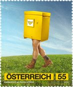 Østrig - Postvæsenkampagne - Postfrisk frimærke