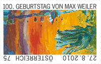 Autriche - Le centenaire de Max Weiler - Timbre neuf