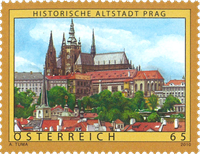 Autriche - La vieille ville de Prague - Neuf