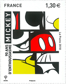 France - Mickey - Timbre neuf