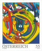 Østrig - Moderne kunst H. Kand - Postfrisk frimærke