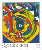 Autriche - Art moderne H. Kand - Timbre neuf