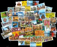 Papouasie Nlle Guinée - Timbres personalisés - Série neuve 39v