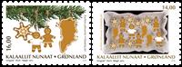 Grønland - Julen 2018 - Postfrisk sæt 2v