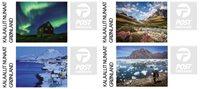 Groenland - Vignette d'affranchissement 2018 - Série neuve 4v