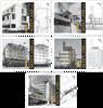 Pays-Bas - Architecture - Série neuve 5v