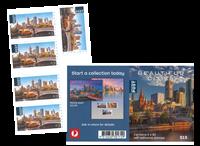 Australie - Villes, feuille - Carnet Villes 5 x 3$