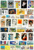 Stati Uniti - francobolli da missioni - 200 g