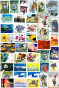 Finlandia - francobolli in Euro - 200 g