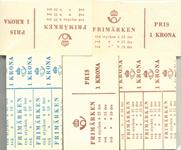Suède - Lot de doublons, carnets