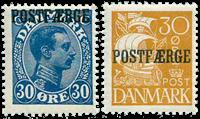 Danmark - Postfrisk sæt Postfærge