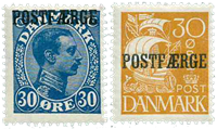 Danemark - Série neuve Postfaerge