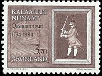 Groenland - 250ème anniversaire de la ville de Christianshaab - 3,70 kr.