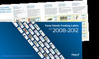 Îles Féroé - Etiquettes distributeur 2008-2012 - Présentation avec étiq. distributeur 2008-2012