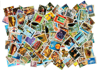 Paraguay - 450 different stamps