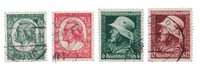 Tyske Rige 1934 - Michel 544-47 - Stemplet