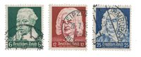 German Empire - 1935 - MICHEL 573/575 - Cancelled