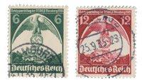 Duitse Rijk - 1935 - Michel 586-587 - Gebruikt