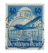 German Empire - 1936 - MICHEL 603 - Cancelled