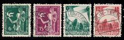 Empire Allemand - 1935 - Michel 586/587, oblitéré