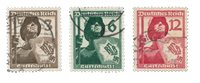 German Empire - 1937 - MICHEL 643/645 - Cancelled
