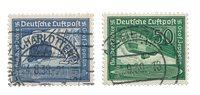 Empire Allemand - 1938 - Michel 669/670, oblitéré