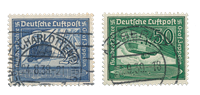 Empire Allemand - 1938 - Michel 669/670, oblitéré