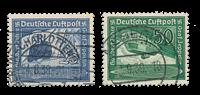 Tyske Rige 1938 - Michel 669-70 - Stemplet