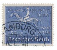 Tyske Rige 1939 -Michel 698 - Stemplet