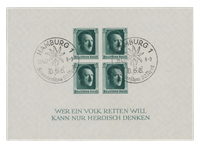 German Empire - 1937 - Michel Block 8, cancelled