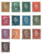 German Empire 1928 - MICHEL 410/422 - Cancelled