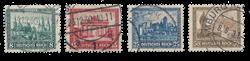 Empire Allemand - 1930 - Michel 450/453, oblitéré