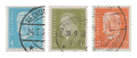 Empire Allemand - 1928 - Michel 410/422, oblitéré