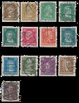 Empire Allemand - 1926 - Michel 385/397, oblitéré