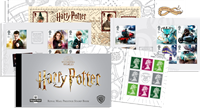 Grande-Bretagne - Harry Potter - Carnet de prestige neuf avec 5 blocs de carnet