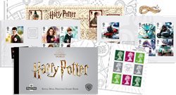 England - Harry Potter - Postfrisk prestigehæfte med 5 hæfteblokke