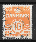 Danmark - AFA 202 - stemplet